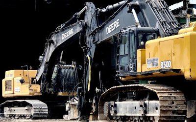 Two-Excavators